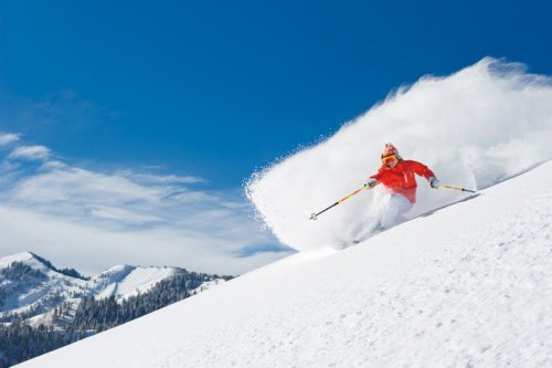 Canyons Skier
