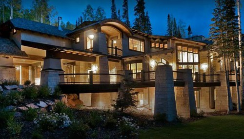 THE COLONY CANYONS PARK CITY REAL ESTATE LUXURY SKI HOMES FOR SALE