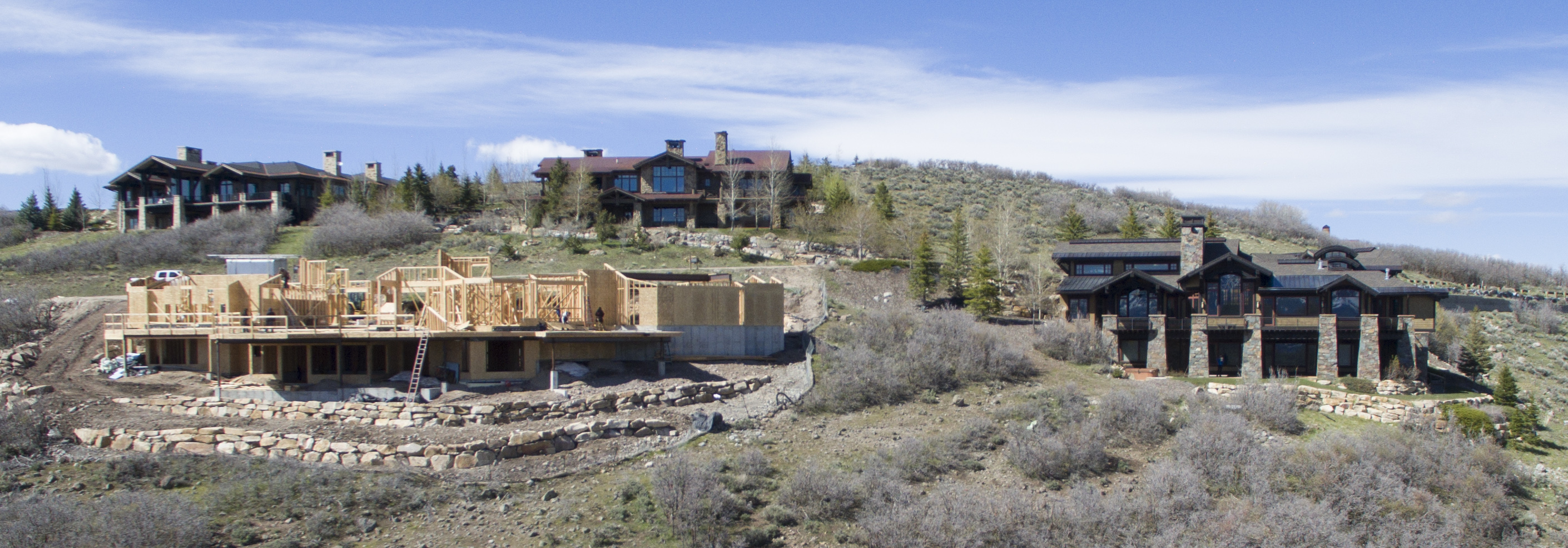 New Construction in Promontory