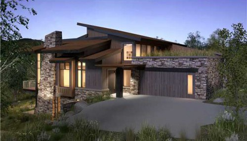 ENCLAVE AT SUN CANYON CANYONS PARK CITY REAL ESTATE LUXURY CONTEMPORARY HOMES AND CONDOS FOR SALE
