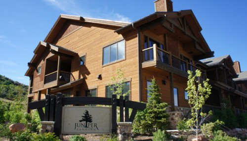JUNIPER LANDING CANYONS PARK CITY REAL ESTATE SKI CONDOS FOR SALE